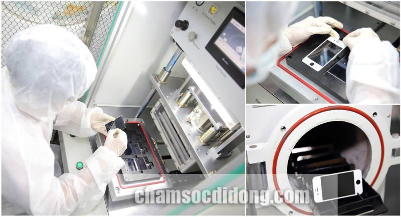 Thay màn hình mặt kính cảm ứng zin Samsung Galaxsy S4, S5, S6, Alpha giá rẻ tại TPHCM