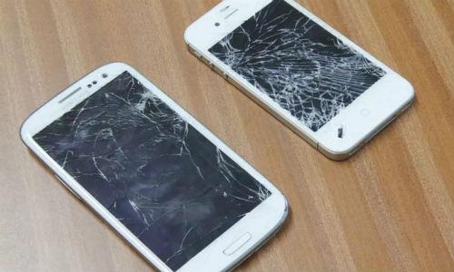 Dịch vụ sửa điện thoại samsung bị vỡ kính, thay mặt kính chính hãng