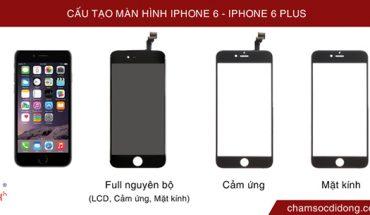 Cấu tạo màn hình cảm ứng iPhone 6, 6plus