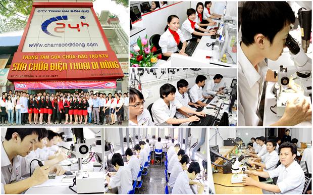 Bệnh Viện Điện Thoại Hai Bốn Giờ chuyên thay ICWIfi iPhone 4,4S,5,5C,5S,6,6 Plus chính hãng.