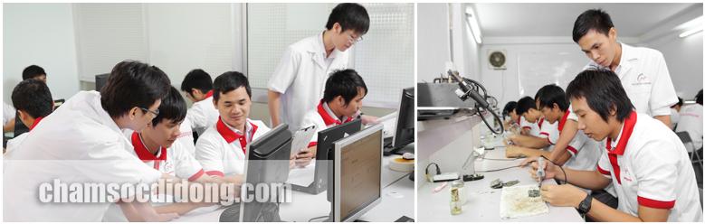 Dịch vụ, chương trình đào tạo sửa chữa điện thoại iPhone, Samsung, Blackberry, Nokia, Sony, Oppo, HTC
