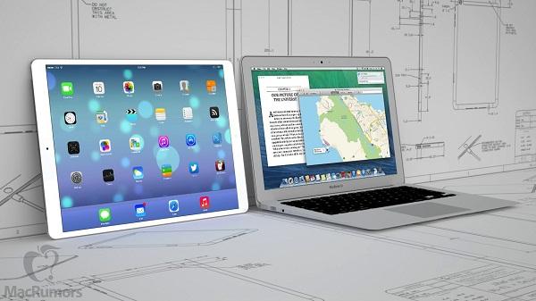 iPad mới sẽ có kích thước ngang với một chiếc Macbook Air