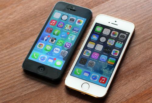 iPhone 5, iPhone 5S được người dùng ưa chuộng nhất hiện nay.