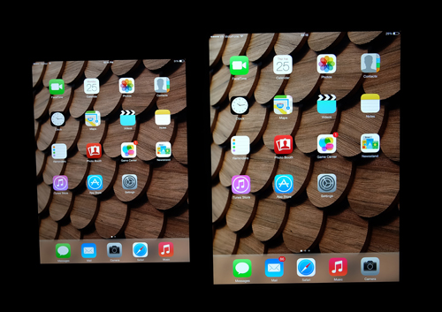 Ngoài màn hình chính ít cảm nhận được sự khác biệt.