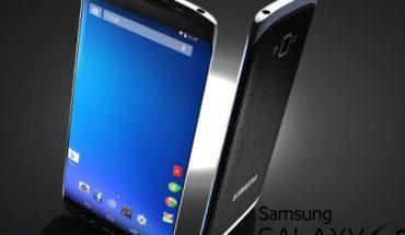 Mẫu concept Galaxy S6.