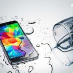 Với khả năng chống nước Samsung Galaxy S5 thêm phần mạnh mẽ.