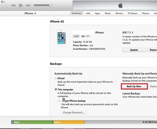"""""""Tất tần tật""""-Hướng dẫn cách reset, cài đặt iOS restore cho iPhone 5/5S/6/6 Plus hình 3"""