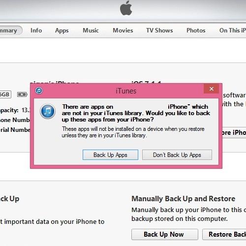 """""""Tất tần tật""""-Hướng dẫn cách reset, cài đặt iOS restore cho iPhone 5/5S/6/6 Plus hình 4"""