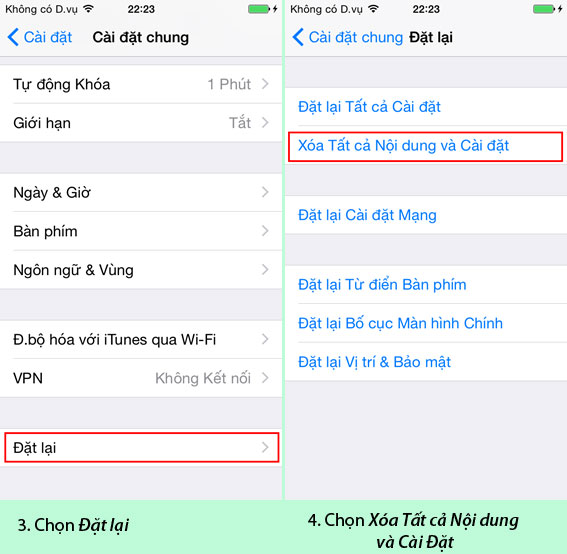"""""""Tất tần tật""""-Hướng dẫn cách reset, cài đặt iOS restore cho iPhone 5/5S/6/6 Plus hình 1"""