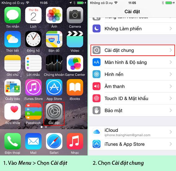 """""""Tất tần tật""""-Hướng dẫn cách reset, cài đặt iOS restore cho iPhone 5/5S/6/6 Plus"""