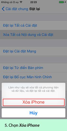 """""""Tất tần tật""""-Hướng dẫn cách reset, cài đặt iOS restore cho iPhone 5/5S/6/6 Plus hình 2"""