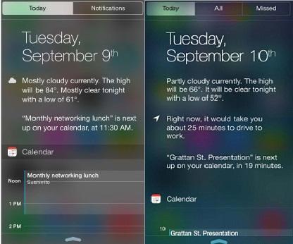 iPhone 6, 6 Plus và iPhone 5S, 5.
