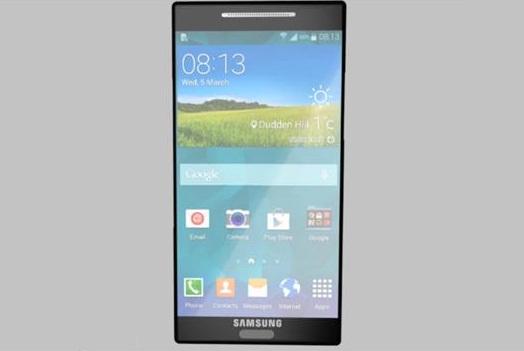 Một concept Galaxy S6.