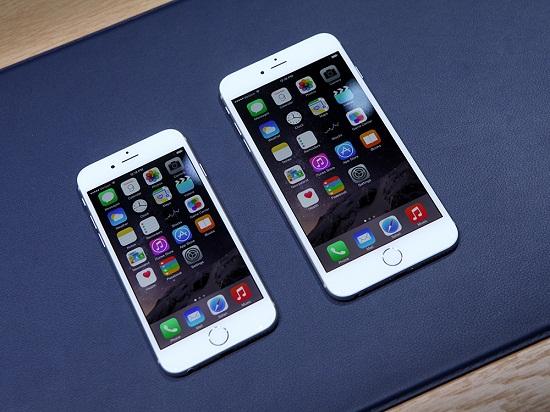 Tuy chất lượng màn hình iPhone 6 và iPhone 6 Plus đã được nâng cấp nhưng vẫn thua kém so với các Smartphone các hãng lớn.