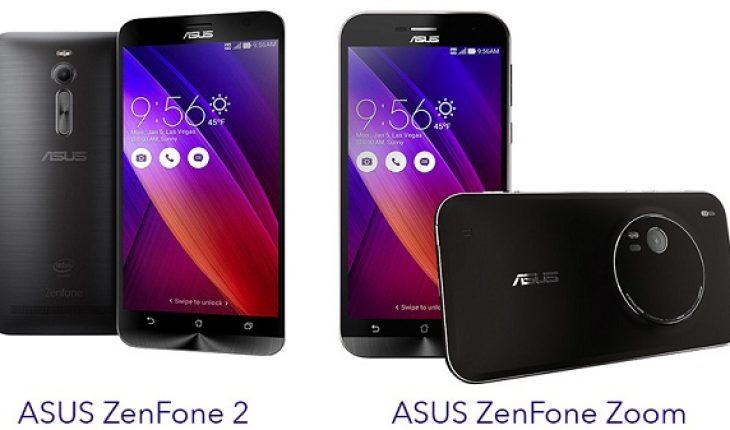 Asus Zenfone 2 và Asus Zenfone Zoom