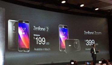 Asus Zenfone 2 và Zenfone Zoom tại CES 2015