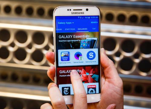 Gioi thieu ve man hinh cam ung Samsung Galaxy S6 S6 Edge