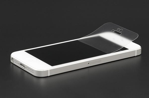 Sử dụng kính cường lực hoặc dán màn hình iPhone 5,5S để giảm thiểu tình trạng bị xước.