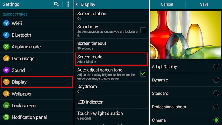 galaxys5-screen-mode