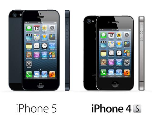 iPhone-5-vs-iPhone-4S-comparison