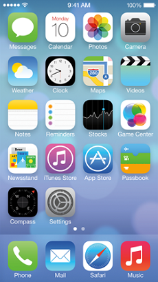the-iphone-5-home-screen-in-ios-7-beta-2-as-released-by-apple