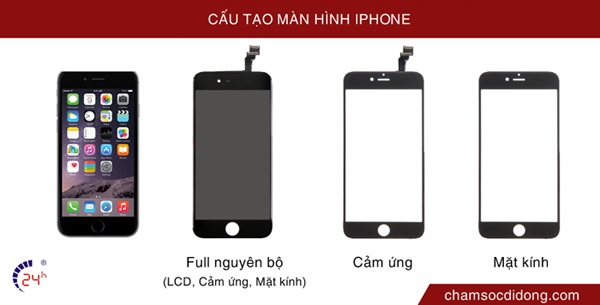 cau tao man hinh iphone se