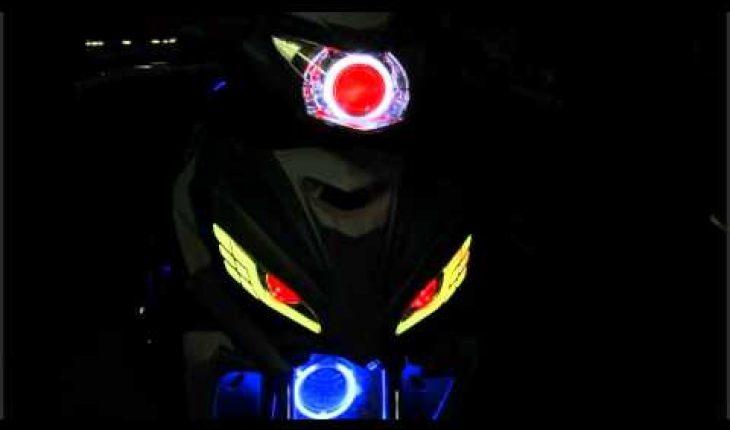 độ đèn led xe máy, ô tô