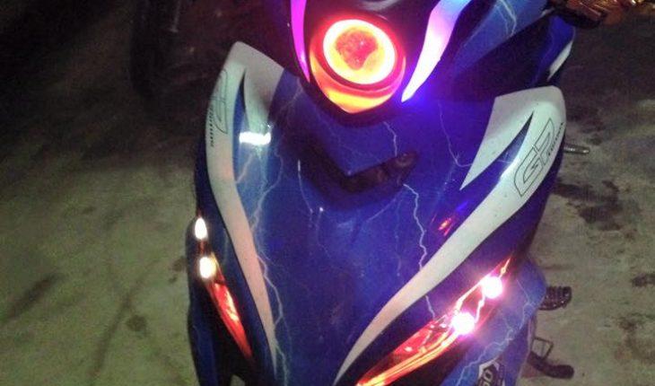 độ đèn xe máy