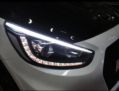độ đèn led xe hơi