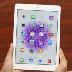 man hinh ipad air bi giat