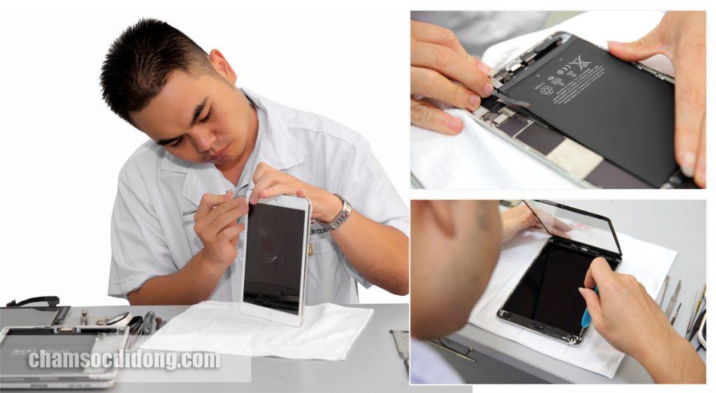 Màn hình iPad Air bị loạn cảm ứng, nguyên nhân và cách sửa chữa?