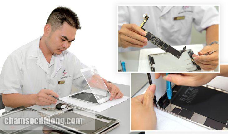 Giá thay màn hình iPad Mini chính hãng ở đâu rẻ nhất tại Hà Nội, TPHCM?