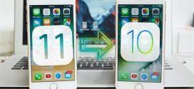 """Hướng dẫn cách hạ cấp xuống iOS 10.3.2 nếu lỡ """"trót dại"""" nâng lên iOS 11"""