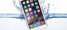 Cảnh báo iPhone bị rơi xuống nước