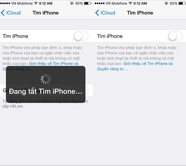 Hướng dẫn cách tắt định vị trên iPhone 6 đơn giản nhất hình 5