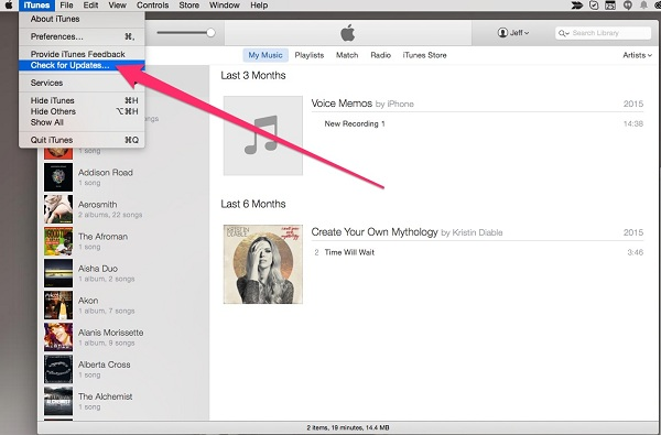 Cậpnhật iTunes