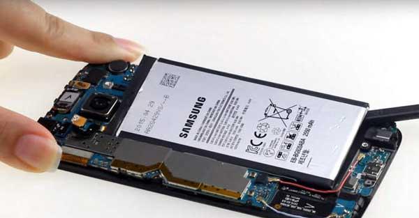 Thay pin Samsung S6, S6 Edge hình 1