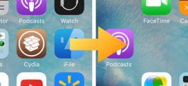 Cách sắp xếp các icon tùy ý trên thiết bị iOS mà không cần Jailbreak