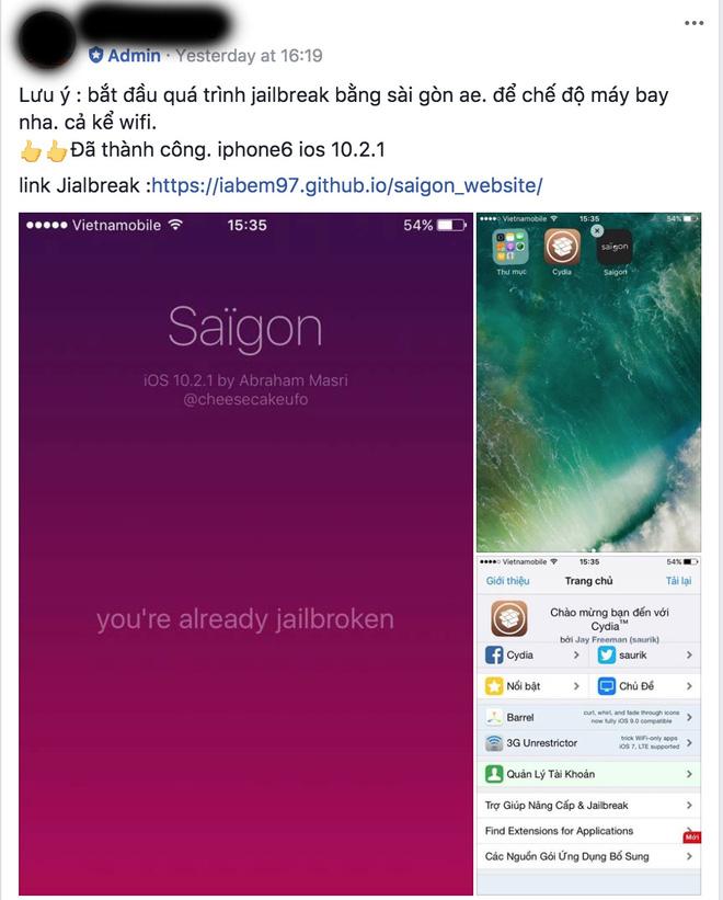 jailbreak iOS 10.2.1 anh2