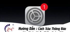 Hướng dẫn cách xoá thông báo cập nhật iOS mới cho iPhone