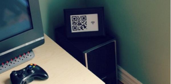 chia sẻ Wifi qua QR Code hình 01