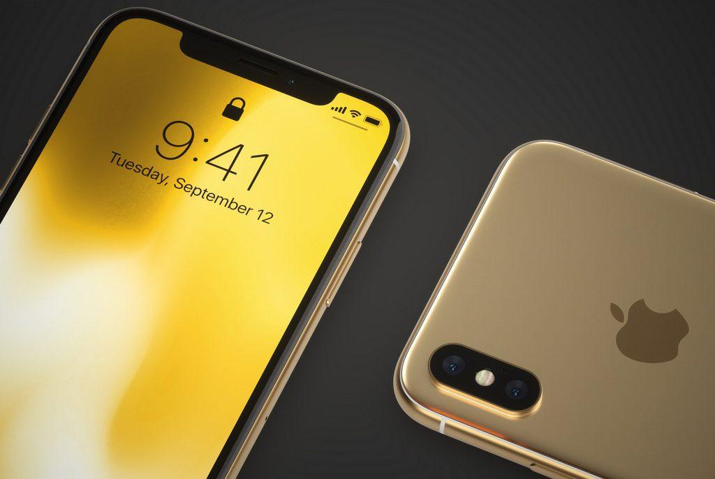iPhone X màu vàng