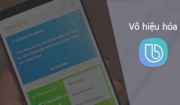 tắt trợ lý ảo Bixby trên smartphone Samsung 2
