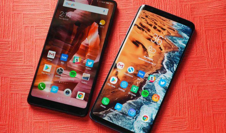 Thay màn hình mặt kính cảm ứng Xiaomi Mi Mix 2s 2