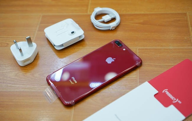 iPhone 8, 8 Plus đỏ