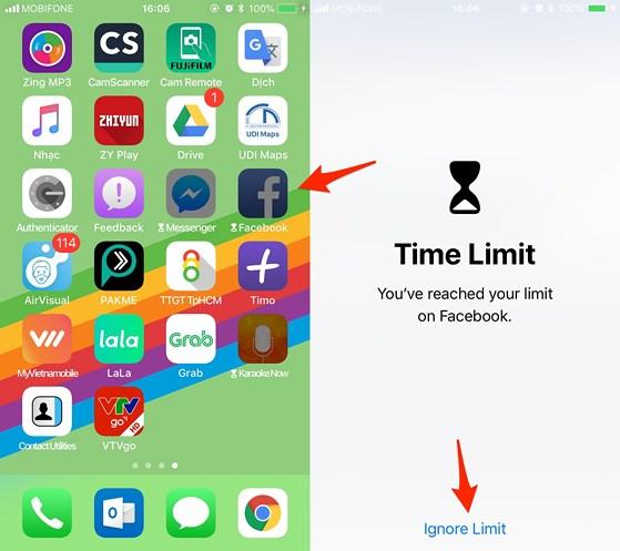 Kiểm soát thời gian sử dụng iPhone 5