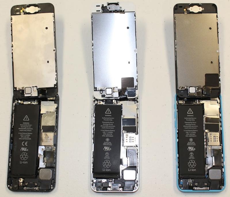 thay phản quang iPhone 5 hinh 5