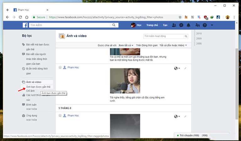Những cách giúp xóa nhanh và triệt để tất cả hình ảnh và status đã đăng trên Facebook mà không sợ mất tài khoản - Ảnh 11