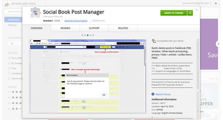 Những cách giúp xóa nhanh và triệt để tất cả hình ảnh và status đã đăng trên Facebook mà không sợ mất tài khoản - Ảnh 2.
