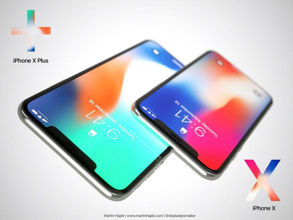 lo thong tin cau hinh thiet ke iphone x plus 2018